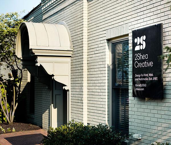 Front of 2Shea Creative Graphic Design Studio in Columbus, Ohio